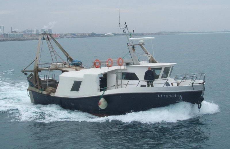 Barche da lavoro for Barca a vapore per barche da pesca